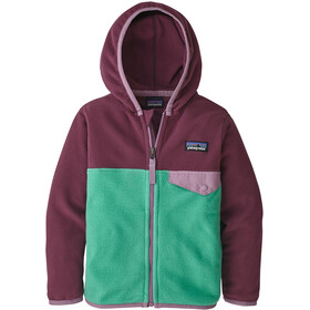 Patagonia Micro D Snap-T Jas Kinderen, plains green